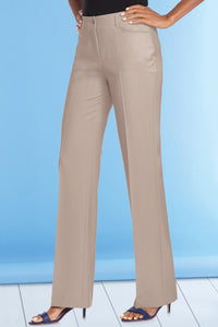 Diane Tummy-Control Bootcut Pants by Shape Benefits - Misses