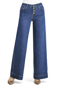 Goddess Wide Leg Jeans - Misses