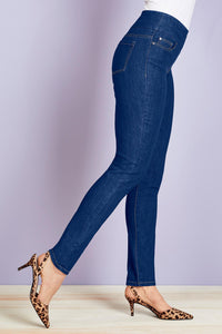 Sensation Smooth Waist Skinny Jeans - Misses