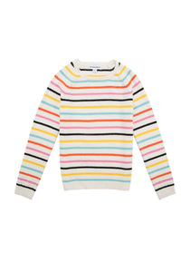 Casual Colorful Striped Sweater
