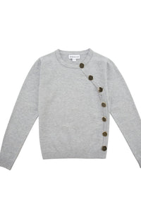 Fashion Snap Button Down Sweater