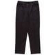 Black Casual Pocket Rubber Waist Pants