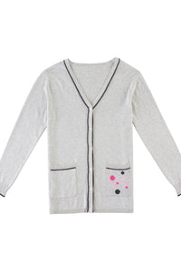 V-Neck Pocket Cardigan