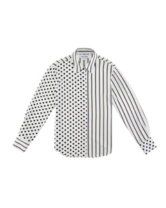 Dot and Stripe Casual Shirt