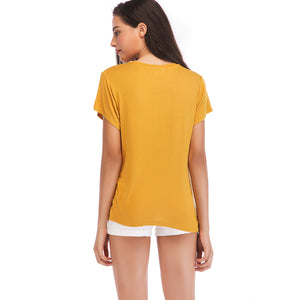 Ladies Knit Stays Tee SH