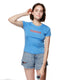 Ladies Knit Short Sleeve Famous Tee SH