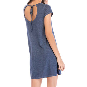 Short Sleeve Casual Dress