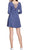 Weavers Navy Knit Casual Dress