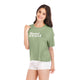 Ladies Knit Semi Sweet Tee