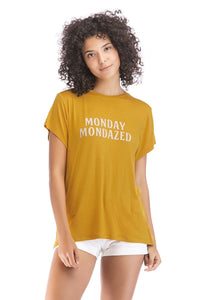 Ladies Short Sleeve Monday Tee