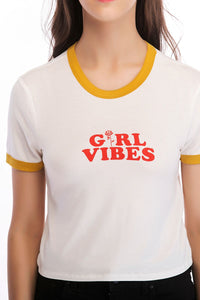 Ladies Knit Girlvibes Tee