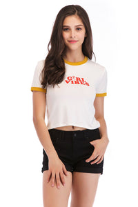 Ladies Knit Girlvibes Tee SH