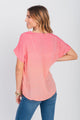 Dip-Dyed Top With Necklace Calypso