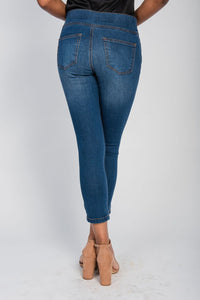 Five Pocket Cropped Jegging Medium Wash