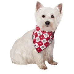 Aria Sweetheart Scotties Dog Bandanas