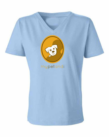 My Pet and I V-Neck T-Shirt