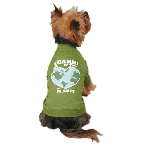 Casual Canine Bark If You Love The Planet Dog Tees