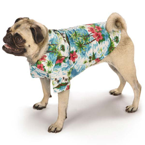 Casual Canine Hawaiian Breeze Camp Shirts