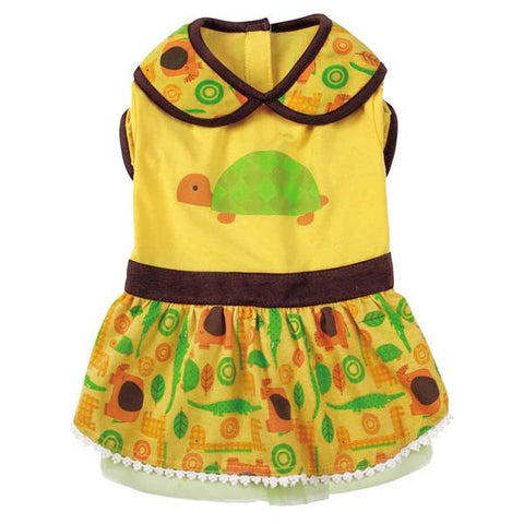 Casual Canine Jungle Bunch Turtle Dresses