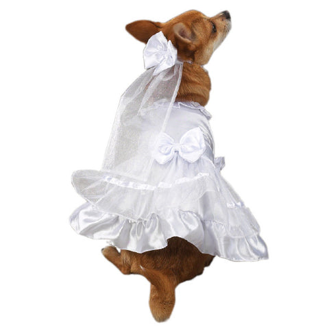 ESC Yappily Ever After Dog Wedding Gown
