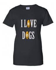 I Love Dogs Women Tee