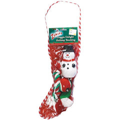 Zanies Doggie Delight Holiday Stockings 4Pk