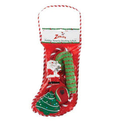 Zanies Holiday Surprise Stocking 5Pk