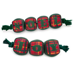 Zanies Holly Days Tug Toys
