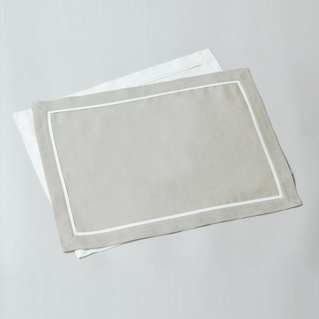 PLEATS LINEN PLACEMATS