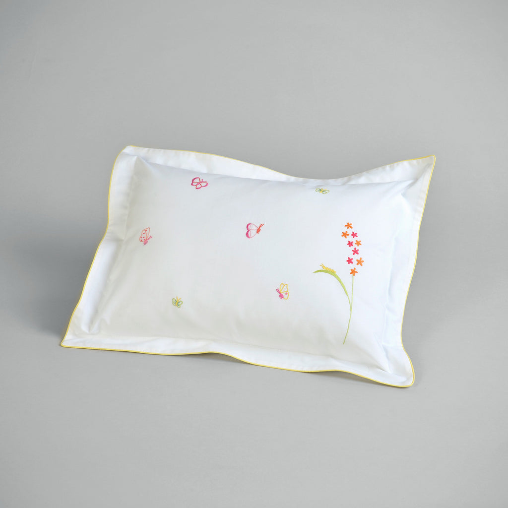 CHILDREN'S BUTTERFLY CUSHION COVER