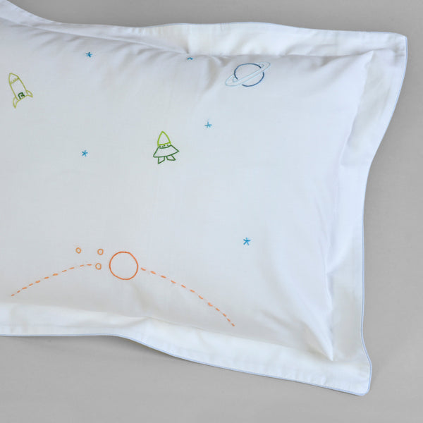 CHILDREN'S COSMOS CUSHION COVER