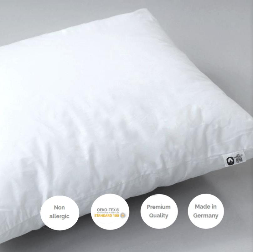 NON ALLERGENIC PADS FOR BED CUSHIONS AND PILLOWS