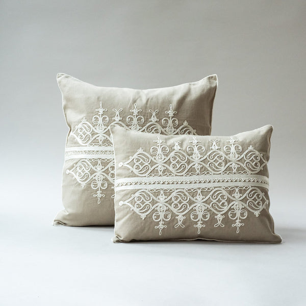 LINEN CORD CUSHION COVER