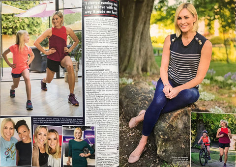 Jenni Falconer mentions Kollo in Hello! Magazine, May 11, 2020