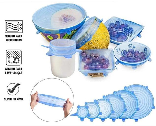 Flexible Silicone Cap Kit (6 pcs)