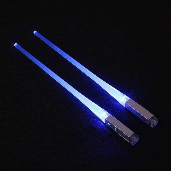 Inspire Uplift Home & Kitchen Blue Lightsaber Chopsticks