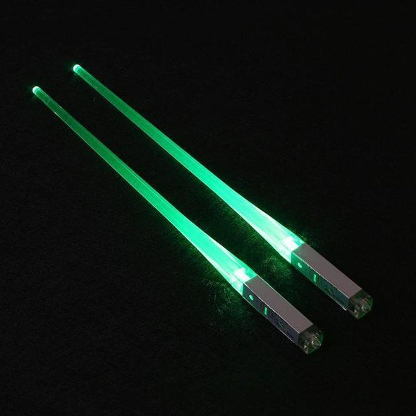 Inspire Uplift Home & Kitchen Green Lightsaber Chopsticks