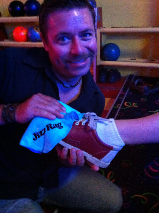 Whenever I go TenPin Bowling, nothing shines up like my JizzRag
