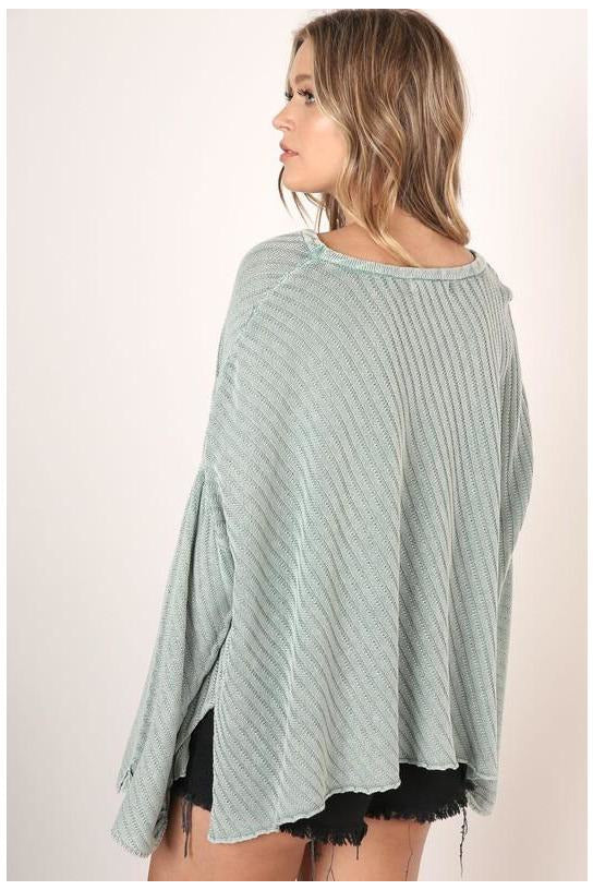 Heather Sweater Sage