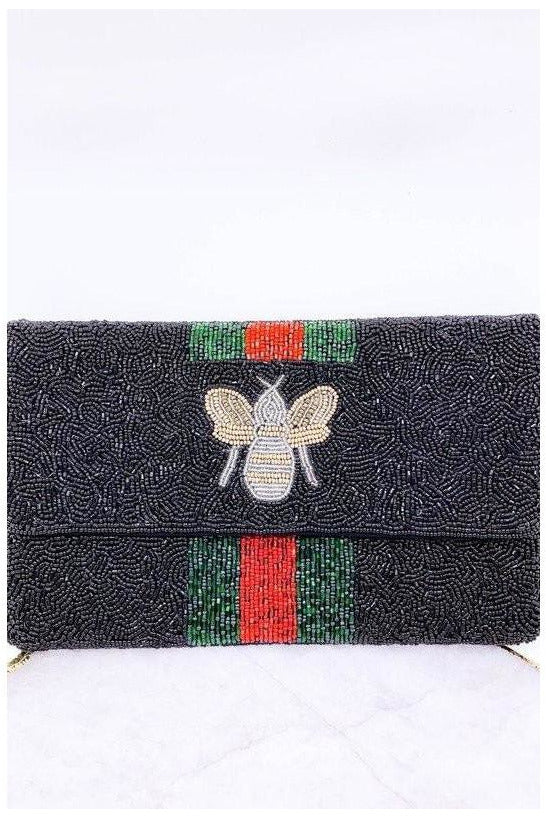 Bee Mine Clutch BLK