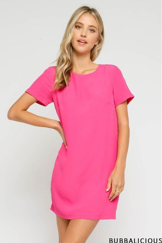 Sweet Spring Time Dress Bubblegum