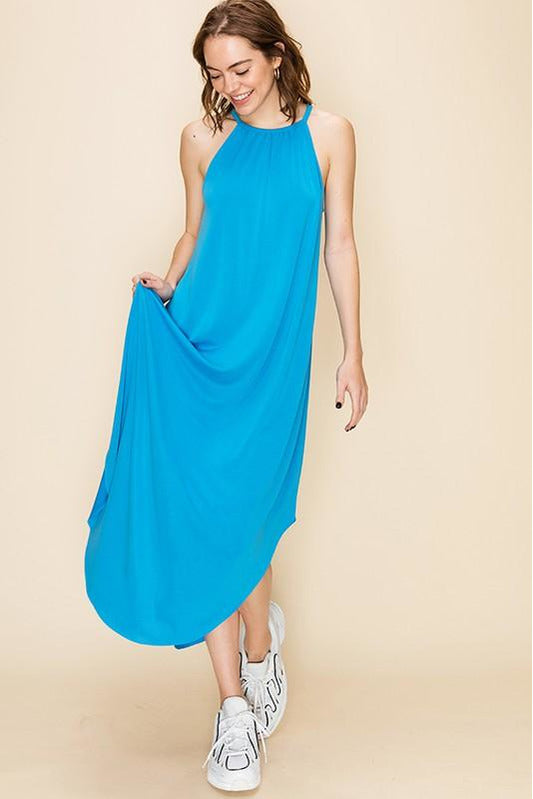 Allie Dress Mali Blue