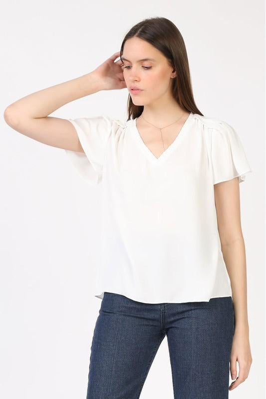 Right Now Blouse White