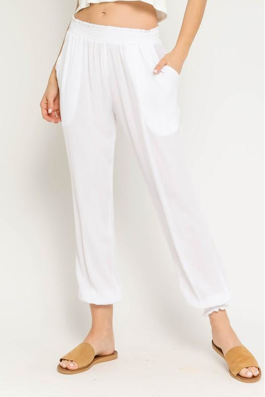 Cloud Nine Pants in White