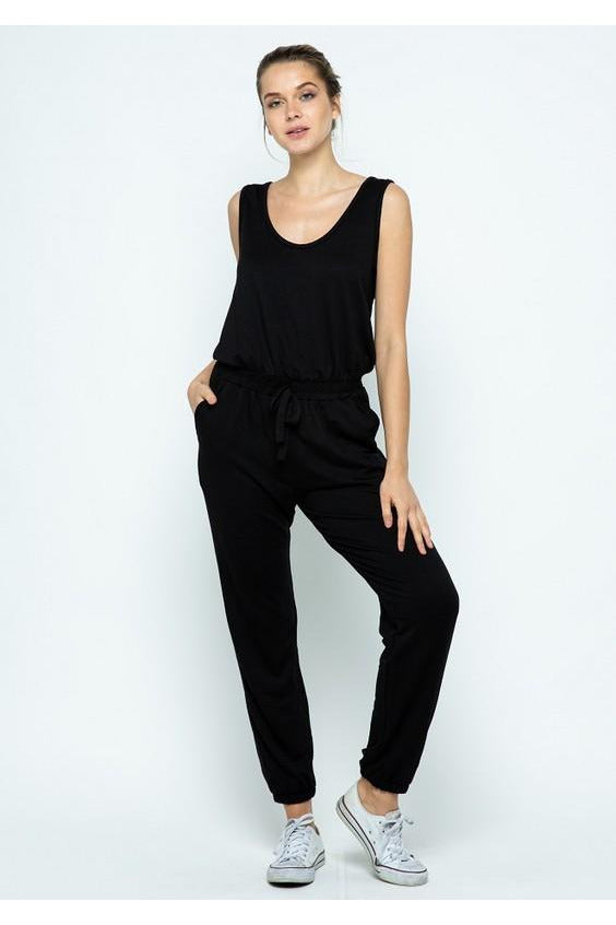 Being Me Jumpsuit Black