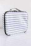 No Time to Spare Makeup Bag Stripe