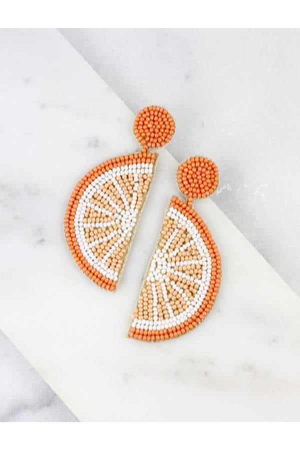 Slice Of Citrus Earrings