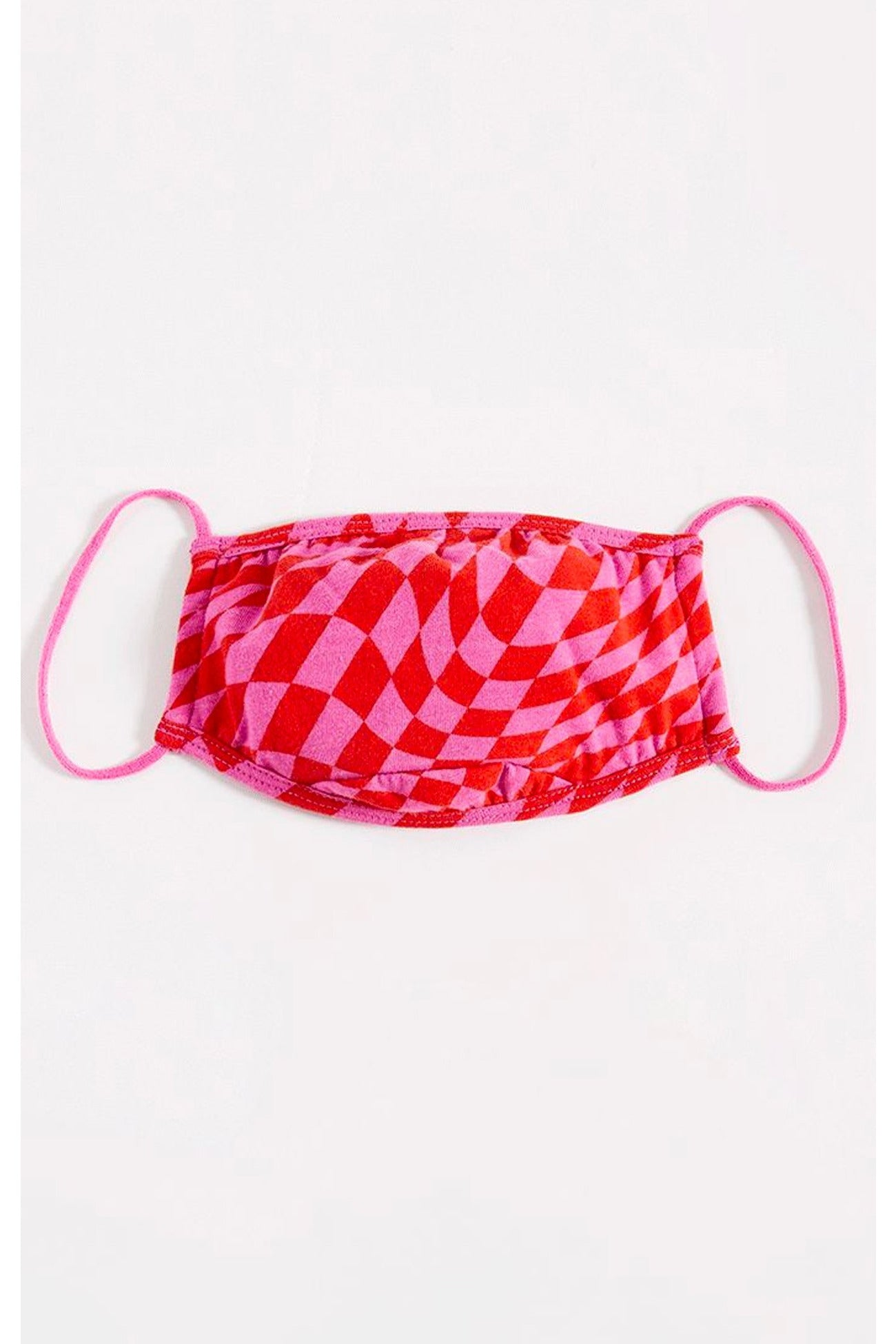 Love Checkered Mask By Z Supply