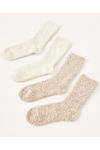 Plush Socks Bone