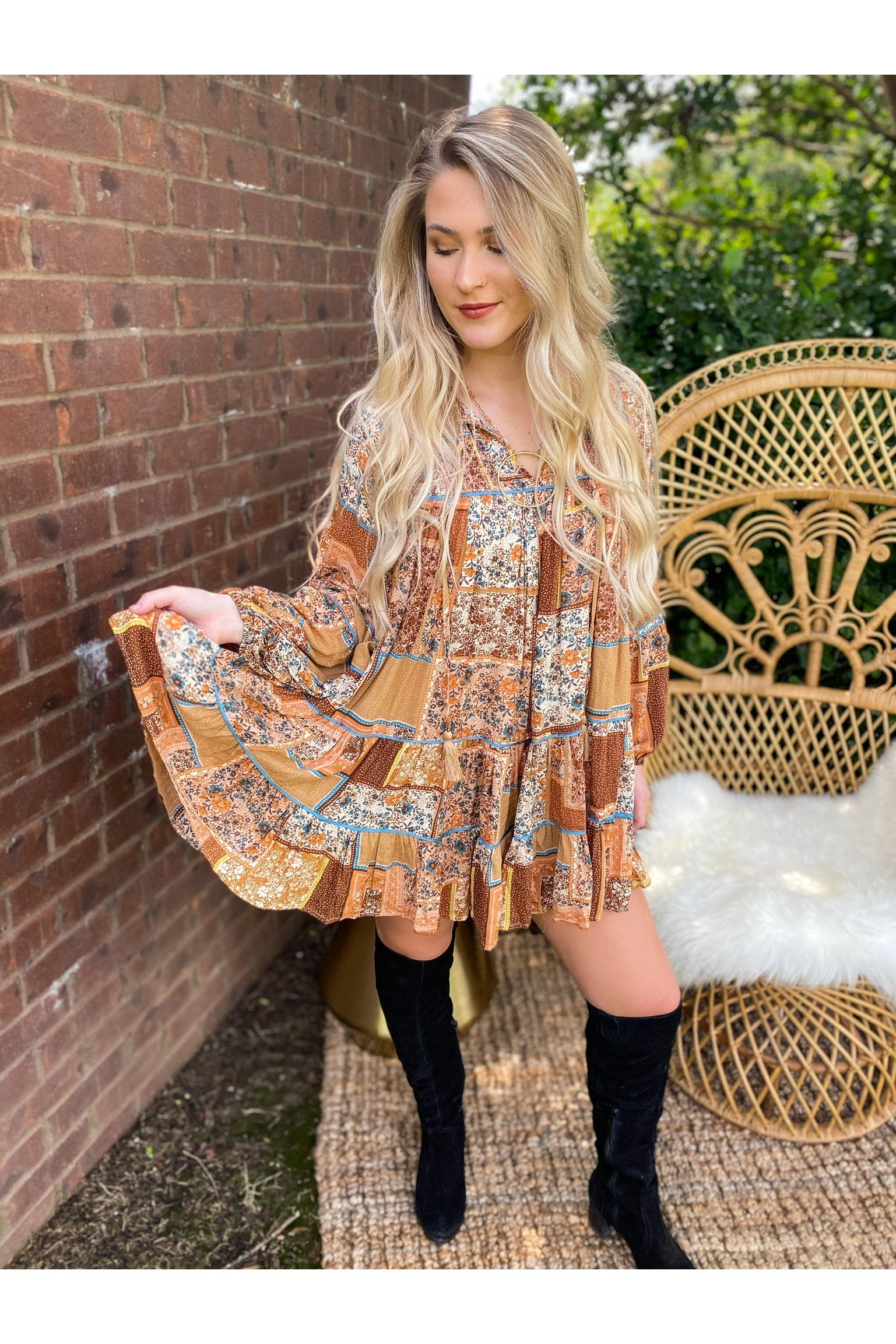 Rexha Boho Dress